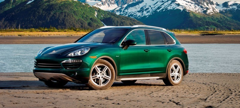 New-for-2014 Porsche Cayenne Turbo S -- Leads 8-Strong Line -- Pricing and Style Comparisons by Trim  10