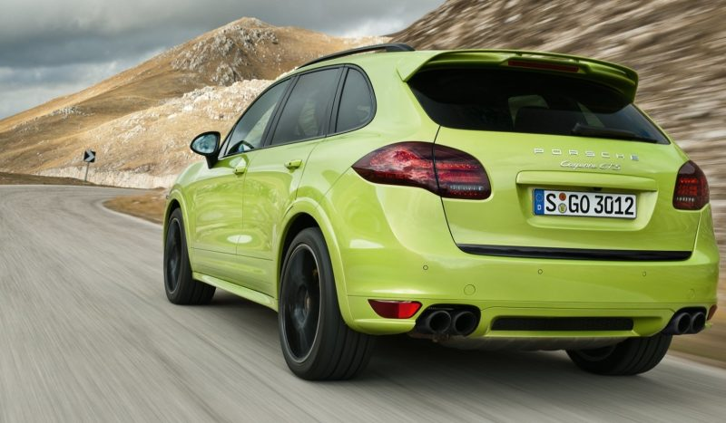 New-for-2014 Porsche Cayenne Turbo S -- Leads 8-Strong Line -- Pricing and Style Comparisons by Trim 12