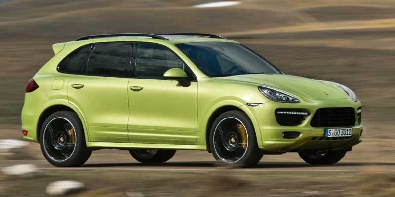 New-for-2014 Porsche Cayenne Turbo S -- Leads 8-Strong Line -- Pricing and Style Comparisons by Trim 13