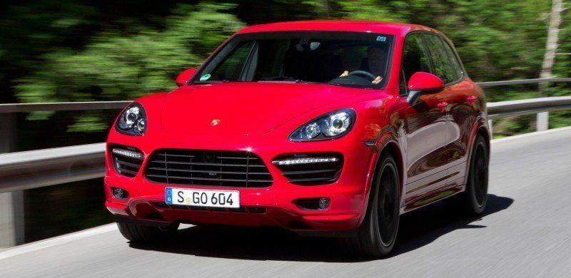 New-for-2014 Porsche Cayenne Turbo S -- Leads 8-Strong Line -- Pricing and Style Comparisons by Trim  16