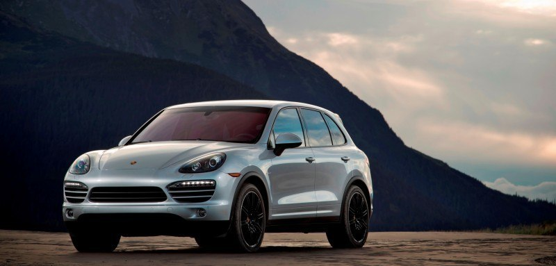 New-for-2014 Porsche Cayenne Turbo S -- Leads 8-Strong Line -- Pricing and Style Comparisons by Trim  2