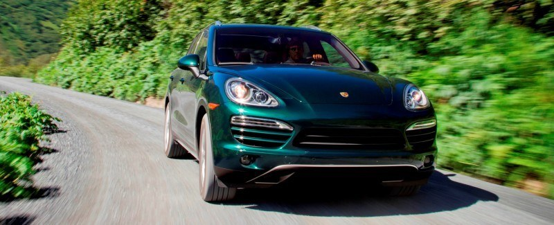 New-for-2014 Porsche Cayenne Turbo S -- Leads 8-Strong Line -- Pricing and Style Comparisons by Trim 23