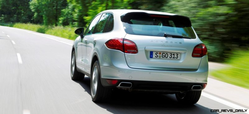 New-for-2014 Porsche Cayenne Turbo S -- Leads 8-Strong Line -- Pricing and Style Comparisons by Trim  26