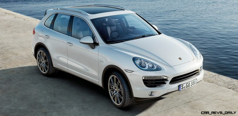New-for-2014 Porsche Cayenne Turbo S -- Leads 8-Strong Line -- Pricing and Style Comparisons by Trim 30