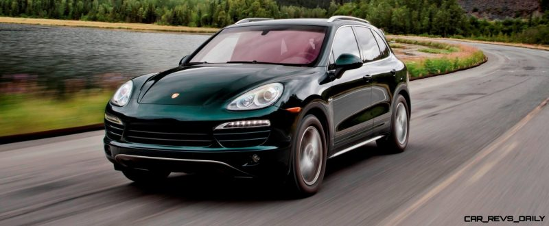 New-for-2014 Porsche Cayenne Turbo S -- Leads 8-Strong Line -- Pricing and Style Comparisons by Trim  4