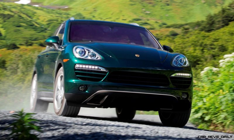 New-for-2014 Porsche Cayenne Turbo S -- Leads 8-Strong Line -- Pricing and Style Comparisons by Trim 7