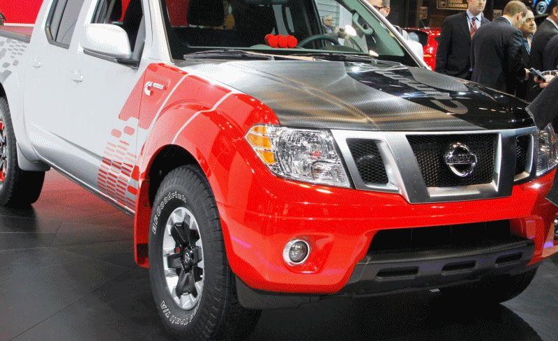 Nissan Frontier Diesel Runner Prototype GIF 2
