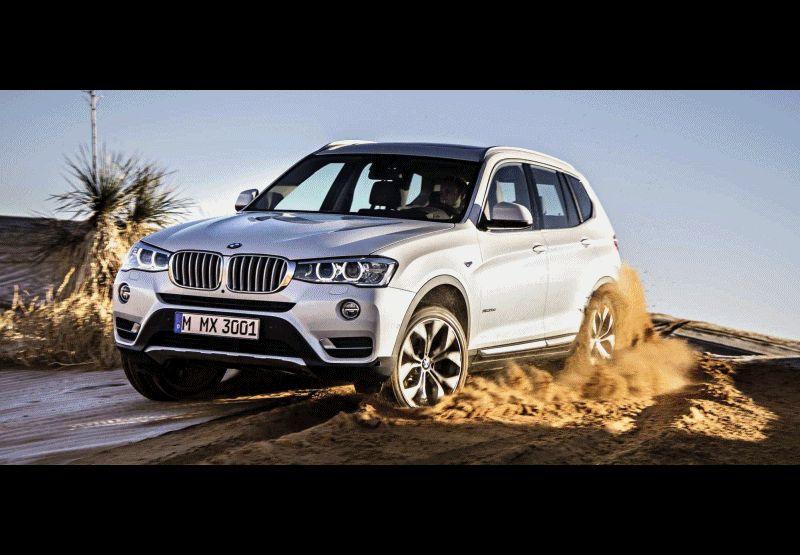 Swanky 2015 BMW X3 xLine Debuts 2 GIF