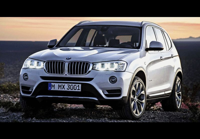 Swanky 2015 BMW X3 xLine Debuts 3 GIF