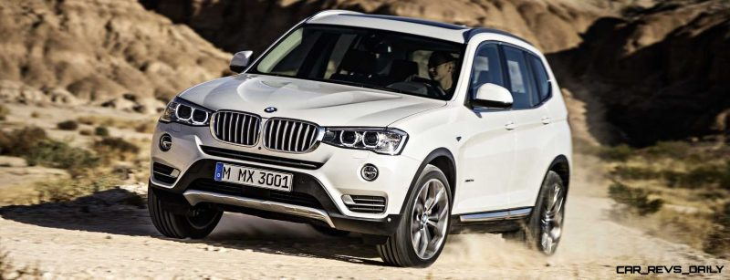 Swanky 2015 BMW X3 xLine Debuts In Chicago Ahead of Spring 2014 Arrival In U.S. Showrooms 10
