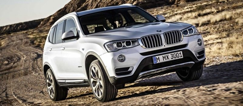 Swanky 2015 BMW X3 xLine Debuts In Chicago Ahead of Spring 2014 Arrival In U.S. Showrooms 11