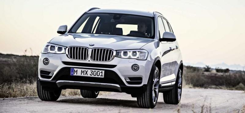Swanky 2015 BMW X3 xLine Debuts In Chicago Ahead of Spring 2014 Arrival In U.S. Showrooms 12