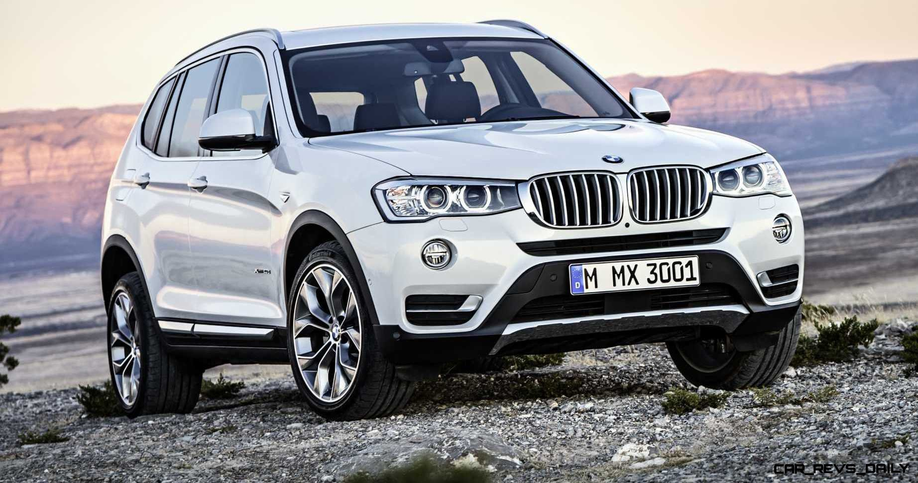 Sy 2017 Bmw X3 Debuts In Chicago Ahead Of May Showroom Arrival From 39 325