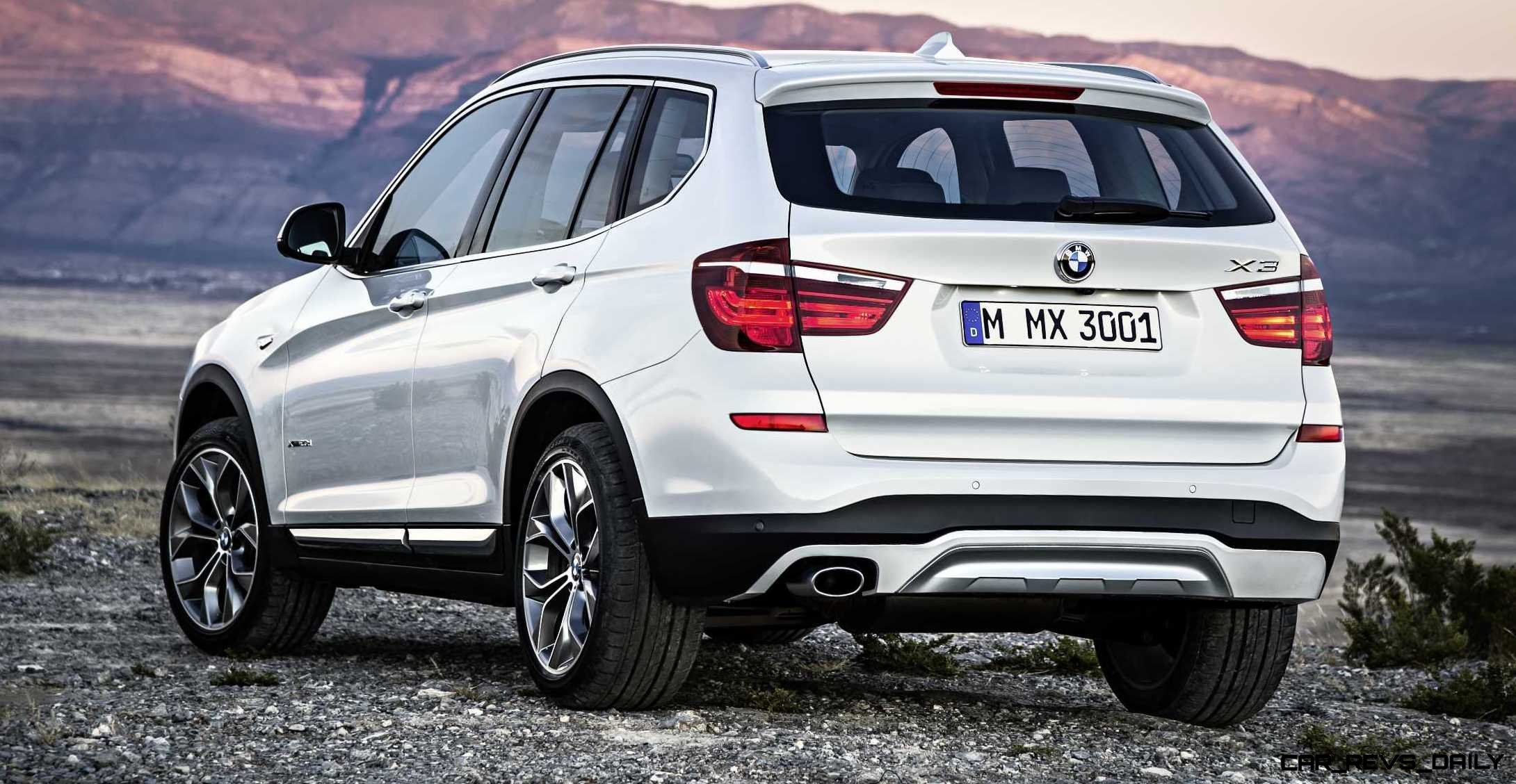 swanky 2015 bmw x3 debuts in chicago ahead of may 2014 showroom arrival from 39 325. Black Bedroom Furniture Sets. Home Design Ideas