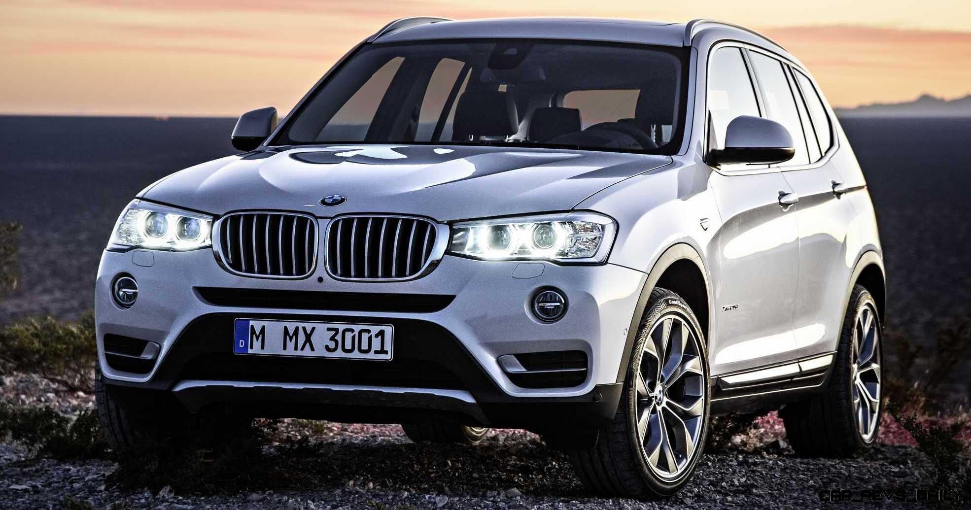 Swanky 2015 BMW X3 xLine Debuts In Chicago Ahead of Spring 2014 Arrival In U.S. Showrooms 28