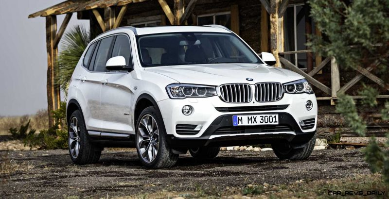 Swanky 2015 BMW X3 xLine Debuts In Chicago Ahead of Spring 2014 Arrival In U.S. Showrooms 7