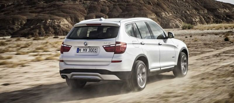 Swanky 2015 BMW X3 xLine Debuts In Chicago Ahead of Spring 2014 Arrival In U.S. Showrooms 9