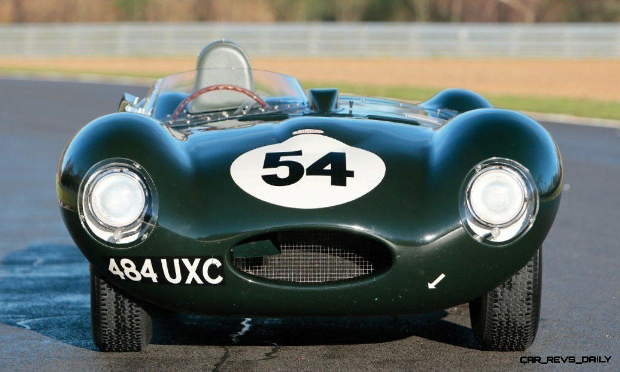Swoopy 1955 D-type JAGUAR Tops All Comers with $5M Total in Fabulous RM Auctions Paris Gala 3