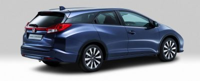 UK Honda Civic Tourer Touts Inner Beauty -- But This Wagon Is Gorgeous vs