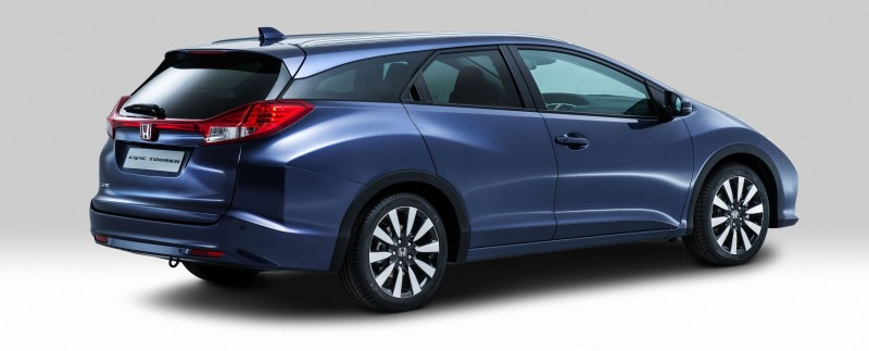 UK Honda Civic Tourer Touts Inner Beauty -- But This Wagon Is Gorgeous vs. Clinically-Depressed U.S. Civic 10