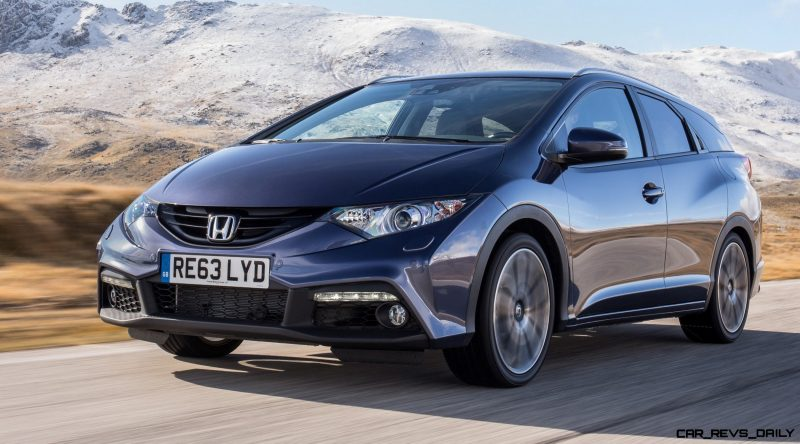 UK Honda Civic Tourer Touts Inner Beauty -- But This Wagon Is Gorgeous vs. Clinically-Depressed U.S. Civic 13