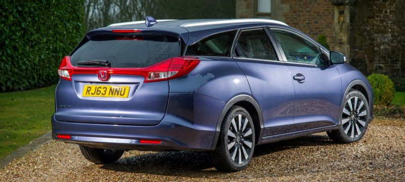 UK Honda Civic Tourer Touts Inner Beauty -- But This Wagon Is Gorgeous vs. Clinically-Depressed U.S. Civic 24