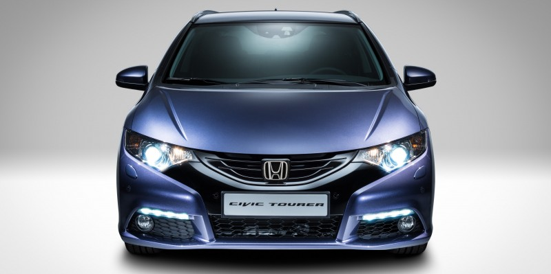UK Honda Civic Tourer Touts Inner Beauty -- But This Wagon Is Gorgeous vs. Clinically-Depressed U.S. Civic 8