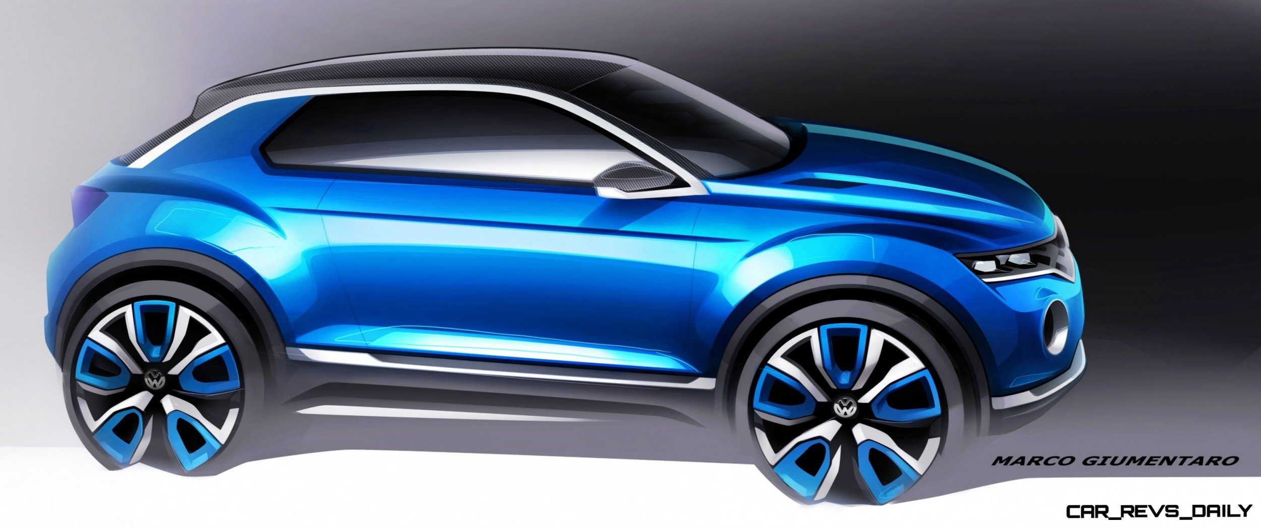 VW T-ROC -- A High-Tech Jeep Wrangler for the Digital Age -- Hot Style -- Real 4WD -- Removable Roof Panels 3