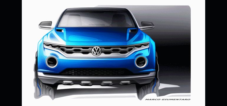 VW T-ROC -- A High-Tech Jeep Wrangler for the Digital Age -- Hot Style -- Real 4WD -- Removable Roof Panels GIF