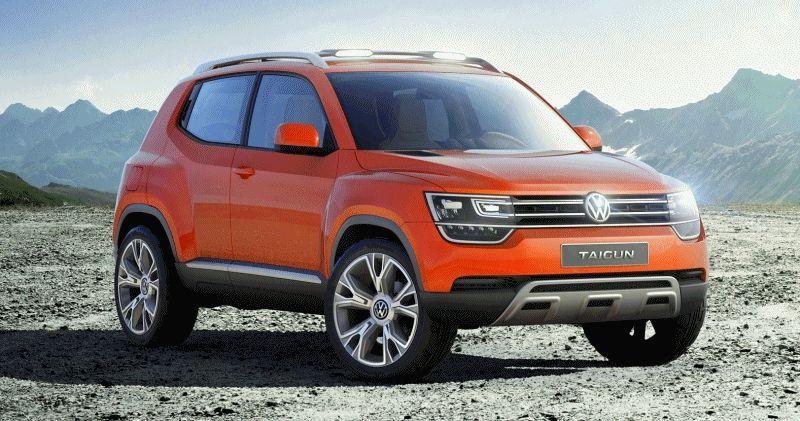 VW TAIGUN CONCEPT GIF