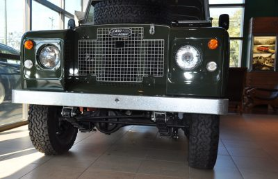 Video Walk-around and Photos - Near-Mint 1969 Land Rover Series II Defender at Baker LR in CHarleston 10