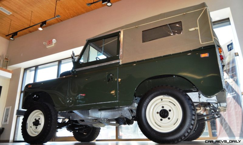 Video Walk-around and Photos - Near-Mint 1969 Land Rover Series II Defender at Baker LR in CHarleston 18