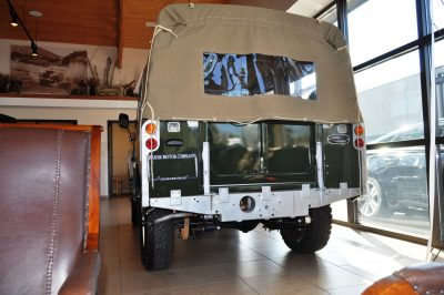Video Walk-around and Photos - Near-Mint 1969 Land Rover Series II Defender at Baker LR in CHarleston 19