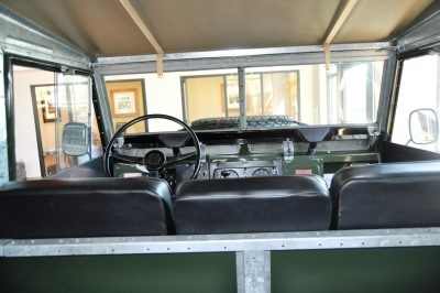 Video Walk-around and Photos - Near-Mint 1969 Land Rover Series II Defender at Baker LR in CHarleston 20