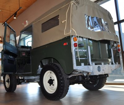 Video Walk-around and Photos - Near-Mint 1969 Land Rover Series II Defender at Baker LR in CHarleston 21