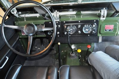 Video Walk-around and Photos - Near-Mint 1969 Land Rover Series II Defender at Baker LR in CHarleston 4