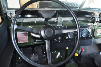 Video Walk-around and Photos - Near-Mint 1969 Land Rover Series II Defender at Baker LR in CHarleston 5