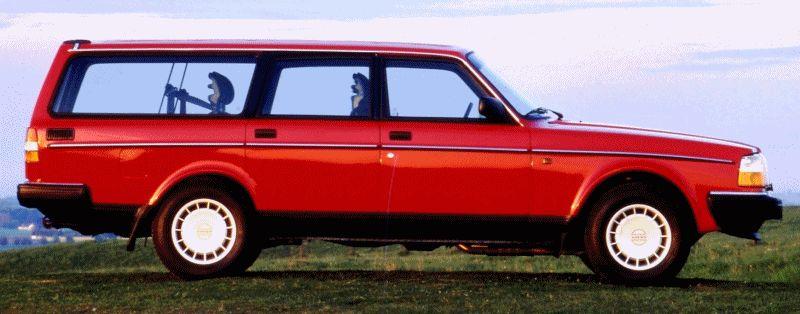Volvo racing wagon evo GIF