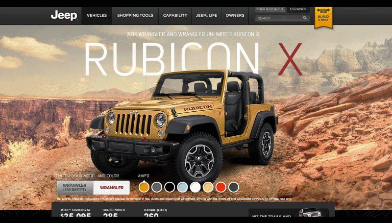 WRANGLER RUBICON X 2-door GIF