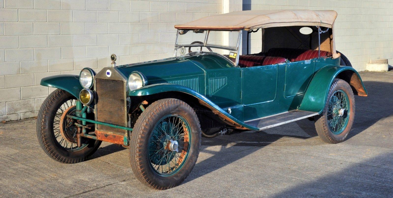 Wealth Dreams -- 1930 Lancia Lambda 8 Sports Tourer Seeks New Home -- My Home 1