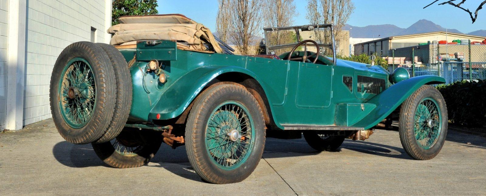 Wealth Dreams -- 1930 Lancia Lambda 8 Sports Tourer Seeks New Home -- My Home 16