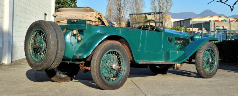 Wealth Dreams -- 1930 Lancia Lambda 8 Sports Tourer Seeks New Home -- My Home 16