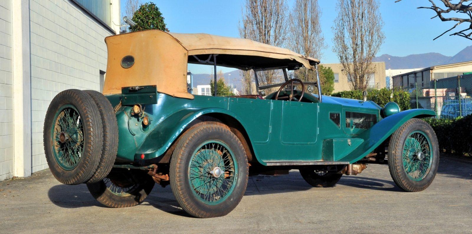 Wealth Dreams -- 1930 Lancia Lambda 8 Sports Tourer Seeks New Home -- My Home 2