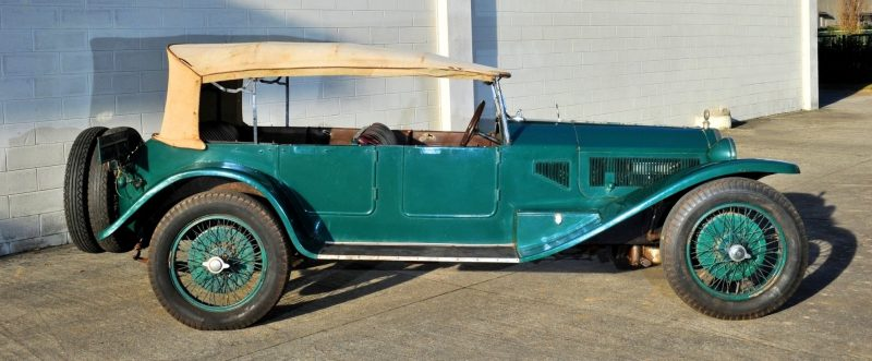 Wealth Dreams -- 1930 Lancia Lambda 8 Sports Tourer Seeks New Home -- My Home 5