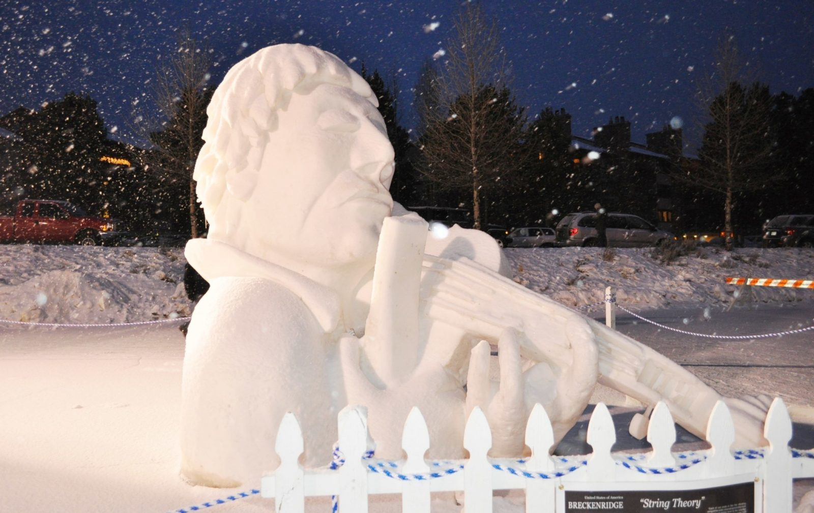 amazing breckenridge snow ice sculptures