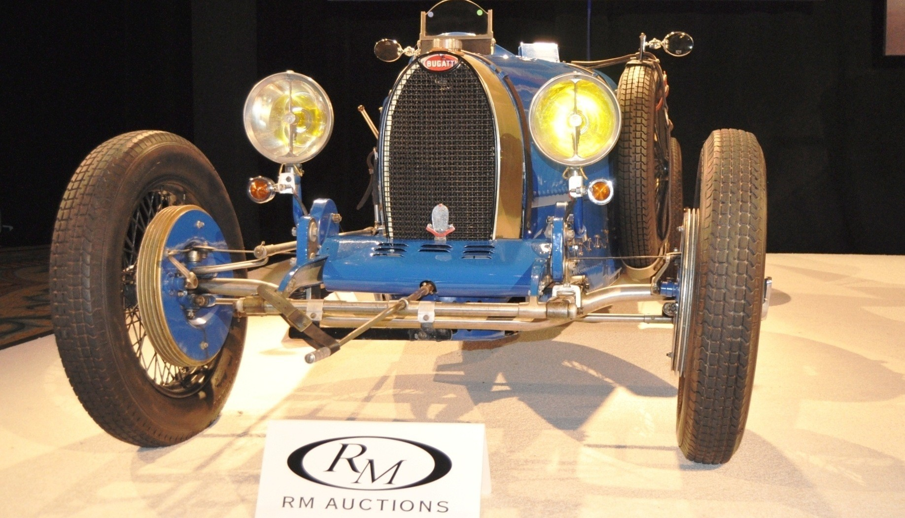1928 Bugatti Type 37A Grand Prix Supercharged-- $962,000 at RM Auctions Amelia 2014 -- 45 Original Photos 4