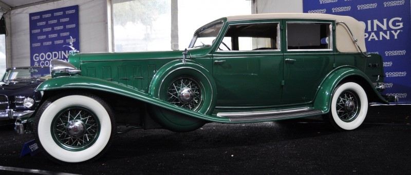 1932 Cadillac V-16 452B Madame X Imperial Sedan -- Gooding & Co. Amelia Island 2014 -- Sold for $264k 10