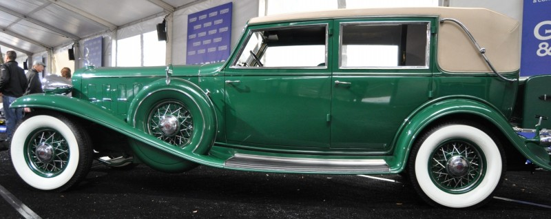 1932 Cadillac V-16 452B Madame X Imperial Sedan -- Gooding & Co. Amelia Island 2014 -- Sold for $264k 12