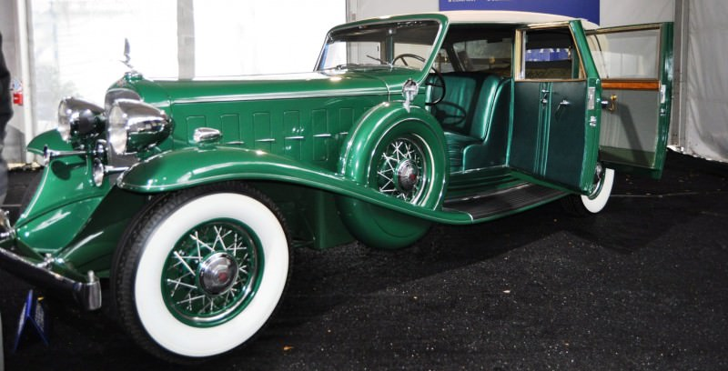 1932 Cadillac V-16 452B Madame X Imperial Sedan -- Gooding & Co. Amelia Island 2014 -- Sold for $264k 23