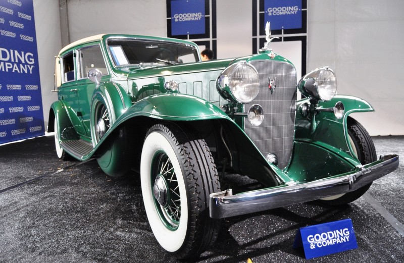 1932 Cadillac V-16 452B Madame X Imperial Sedan -- Gooding & Co. Amelia Island 2014 -- Sold for $264k 26